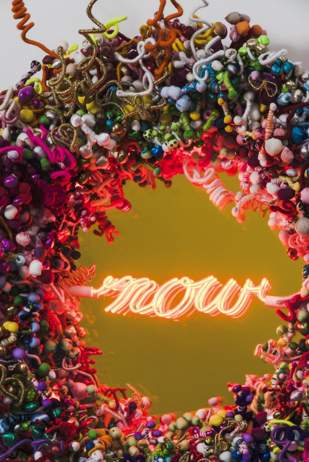 Hiromi Tango, 'Now', 2014, neon and mixed media, 93.5 x 98.5 x 27 cm, Detail_2 From Art Central: Hong Kong 's first international standard satellite art fair, held alongside the island city's much-larger Art Basel.