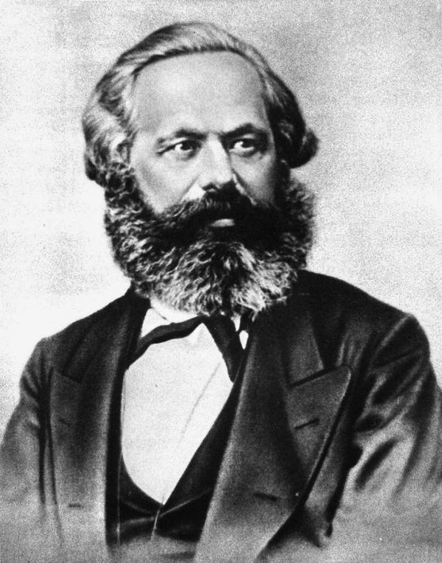 Karl Marx: Too much for a nervous child.