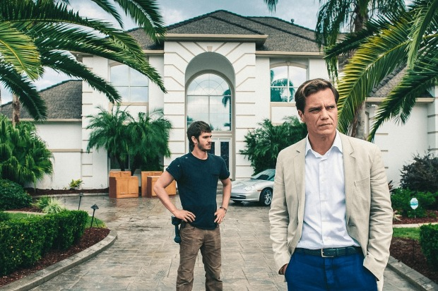 Andrew Garfield and Michael Shannon playing opposing characters in 99 Homes.