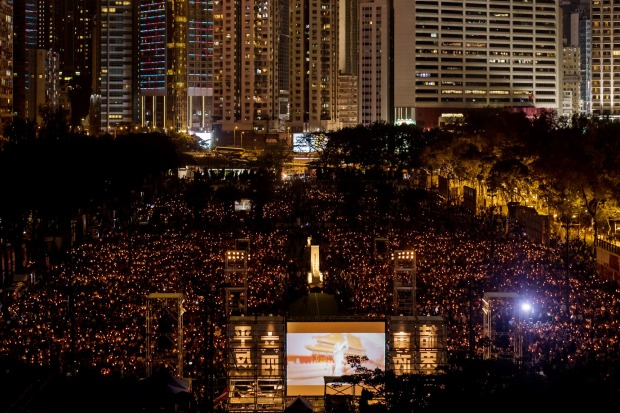 Thousands turned up for June's candlelight vigil at Victoria Park, to mark the 28th anniversary of the 1989 Tiananmen ...