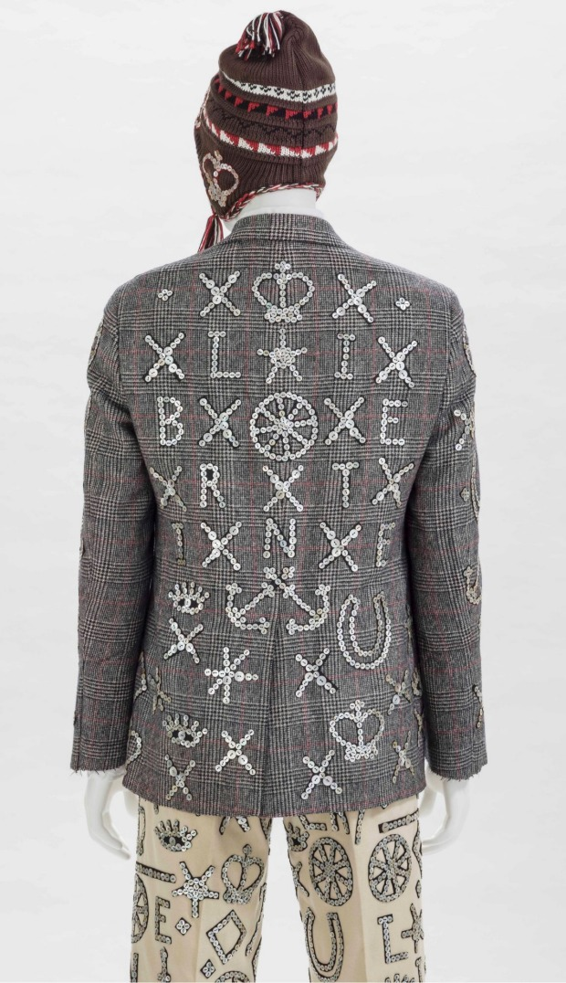 A contemporary take on intricacy from Johnson Hartig for Libertine, autumn/winter 2012-2013.
