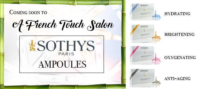 sothys ampoules at a french touch salon