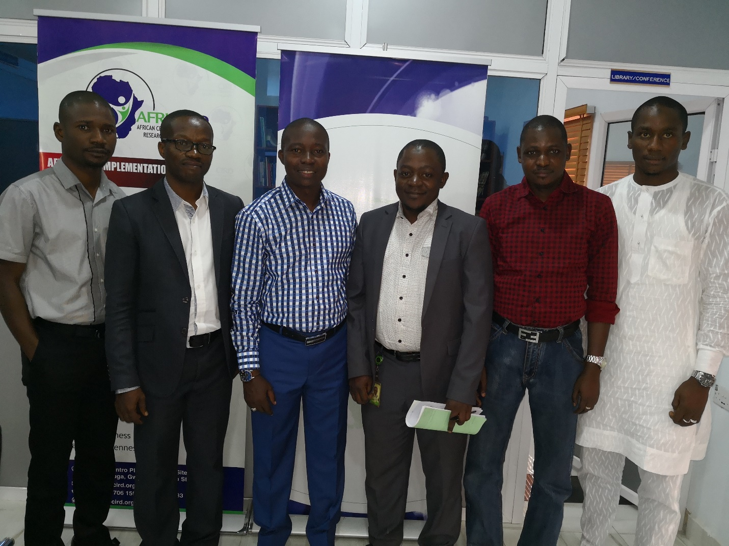 Heritage Bank Visits African Centre for Innovative Research and Development (AFRI – CIRD)