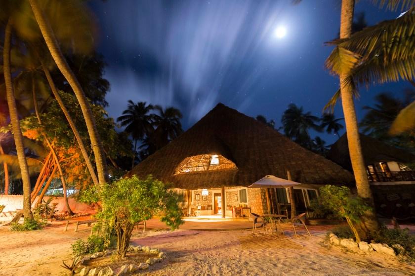 Utupoa Zanzibar at Night