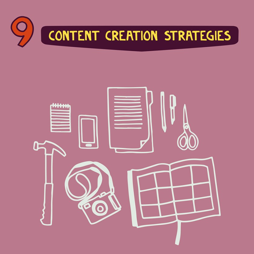 Leveraging Creativity in Business: Use your Content