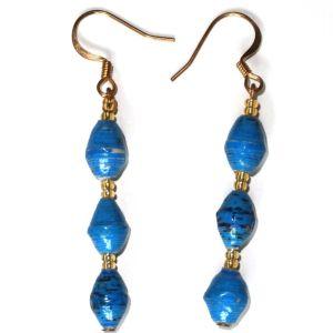 Handmade Essential Blue Earrings
