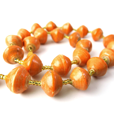 Bewitching Orange Necklace