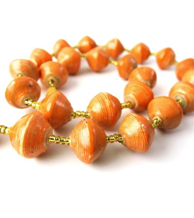 Bewitching Orange Necklace