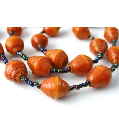 Cola Orange Necklace