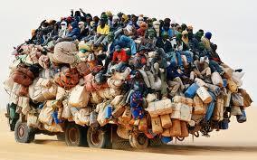 camion di profughi