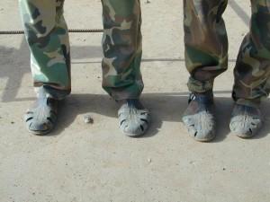 Sandali 2 guerriglieri