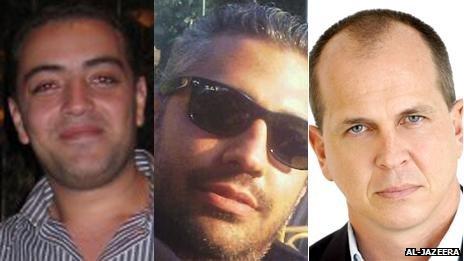 I 3 giornalisti detenuti