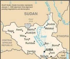 Mappa suid sudan