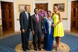 Obiang e Obama