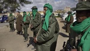 Sostenitori di Gheddafi