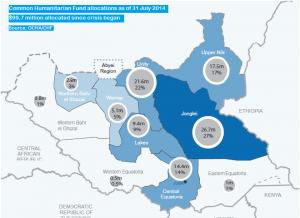 mappa umanitaria