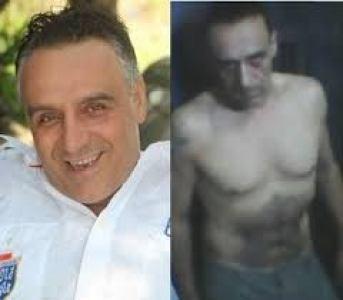 Roberto Berardi (a sin) durante la carcerazione