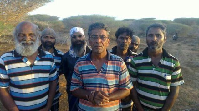 Crew of Asphalt Venture
