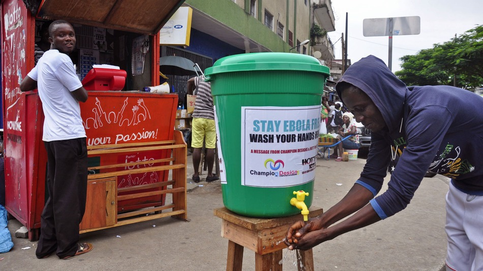 liberia wash hands