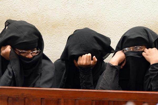 Le 3 donne arrestate