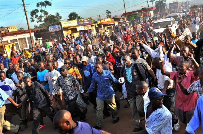 manifestazione uganda