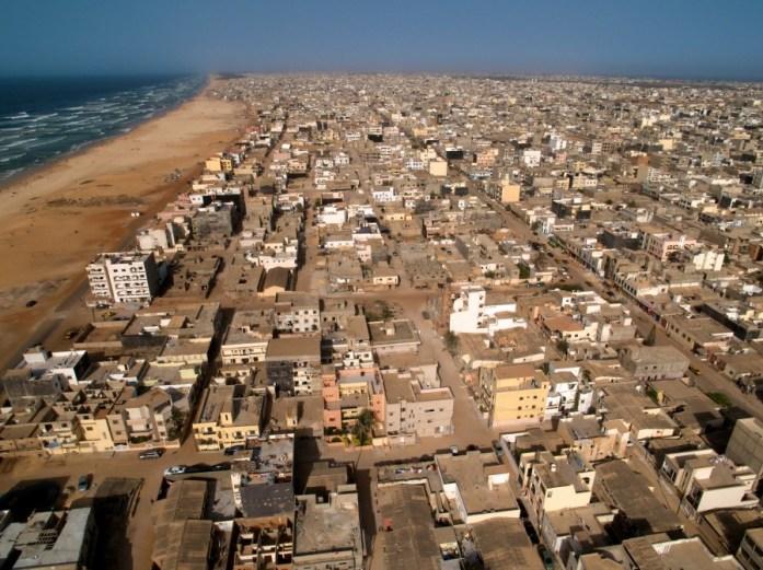 Dakar, vista aerea