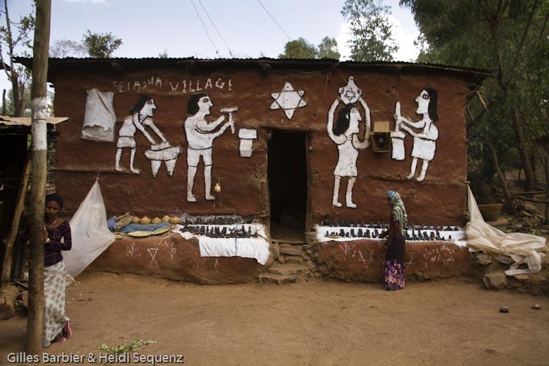 Wolleka, a Falasha Village near Gonder, Ethiopia, Africa