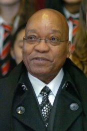 Jacob Zuma, presidente e capo del governo del Sudafrica