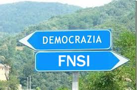 cartello stradale democrazia-fnsi