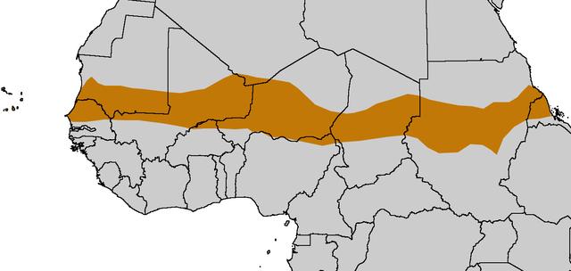 Mappa del Sahel
