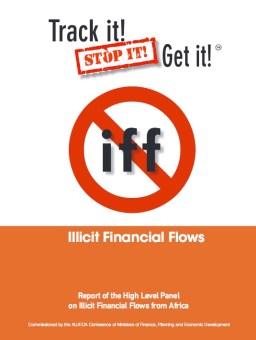 """La copertina del Rapporto """"Illicit Financial Flows"""" presentata da Thabo Mbeki"""