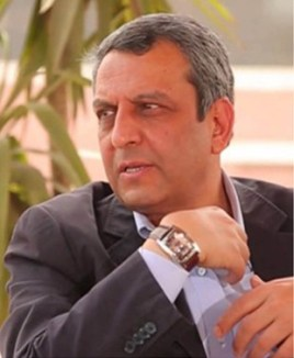 Yahia Galash, presidente del sindacato dei giornalisti egiziani