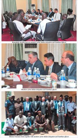 Delegazione italiana in Gambia