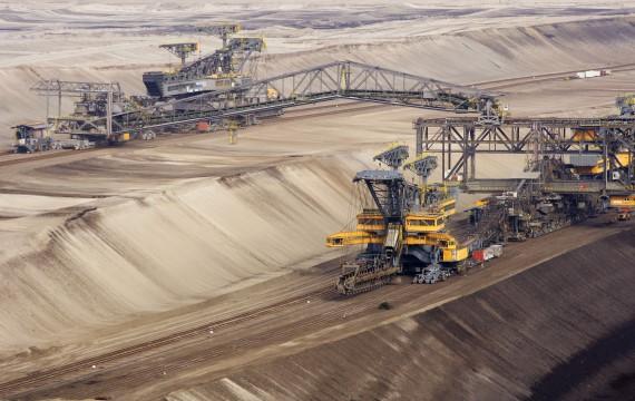 Una miniera di rame nella regione del Copperbelt