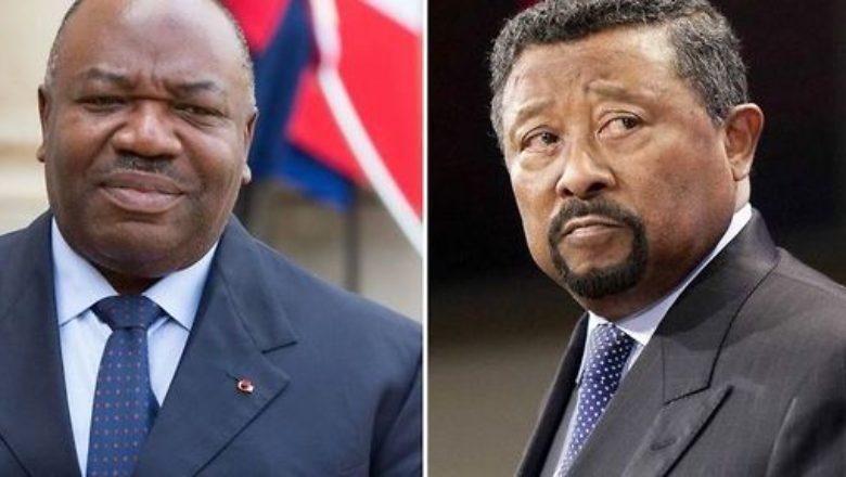 Ali Bongo Ondimba a sinistra Jean Ping a destra