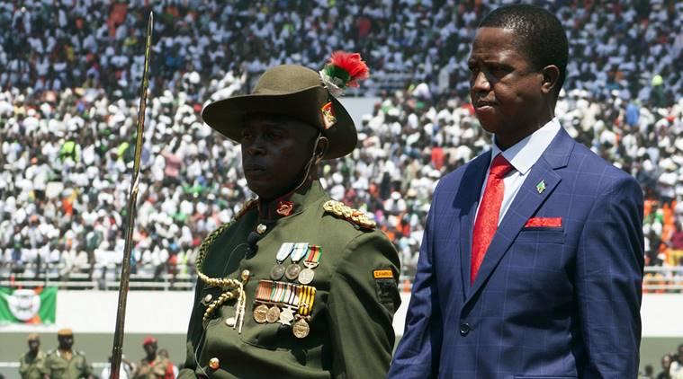 President Edgar Lungu of Zambia