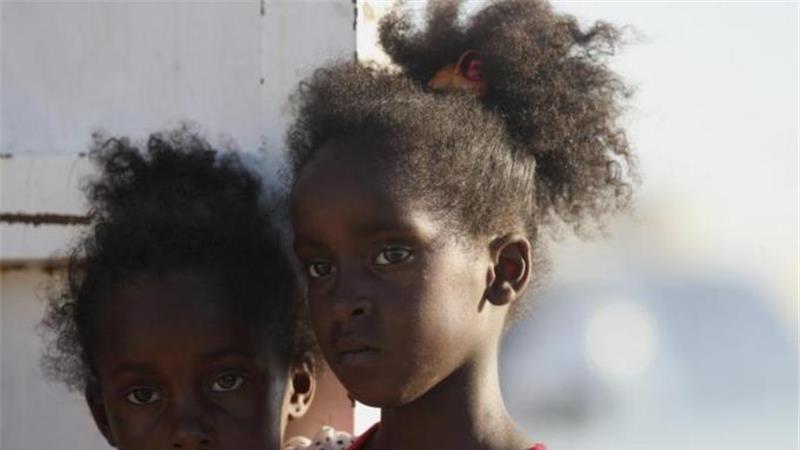 Ragazzine eritree in fuga dal loro Paese