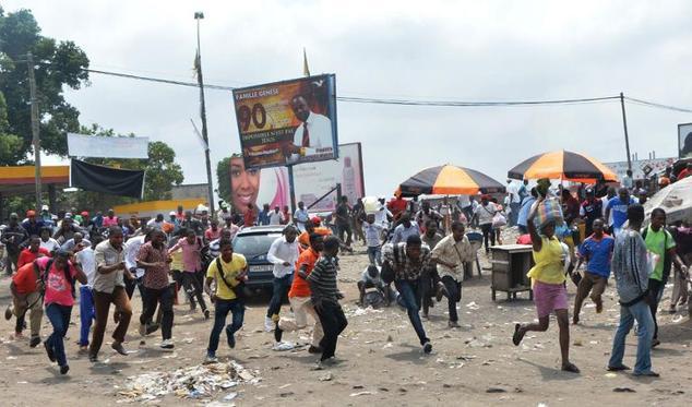 Manifestazioni a Kinshasa