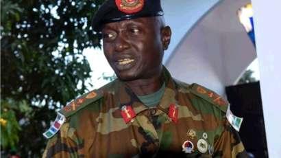 Ousman Badjie, ufficiale gambiano