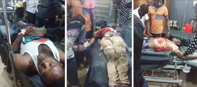 Vittime biafrane delle forze di sicurezza nigeriane