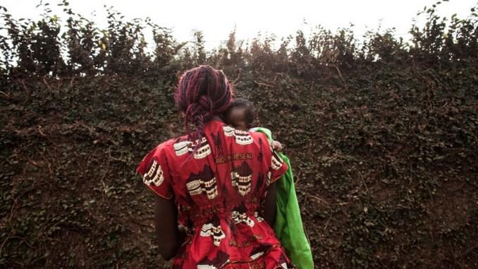 donna in Repubblica centrafricana