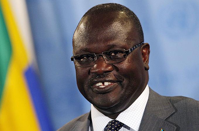 Ex vice presidente del Sud Sudan, ora leader dei ribelli, Riek Machar