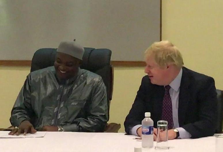 Boris Johnson, segretario di Stato della Gran Bretagna