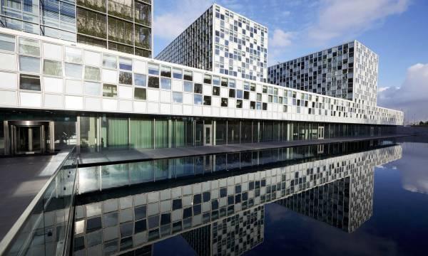 Il palazzo dove ha sede la Corte Penale Internazionale a L'Aja, in Olanda