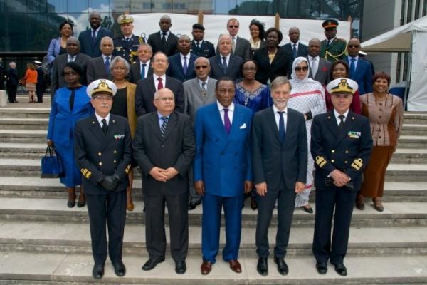 23 maggio 2016. Trentotto Ambasciatori africani accreditati a Roma, hanno fatto visita al Comando generale del Corpo delle Capitanerie di porto – Guardia Costiera.