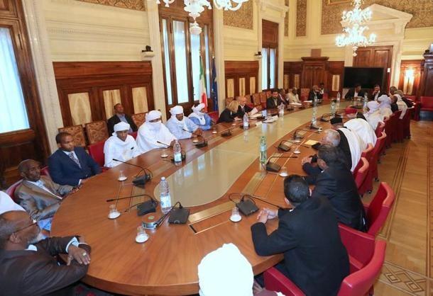 Esponenti di tribù libiche a Roma firmano accordo di pace