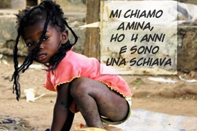 bambina schiava