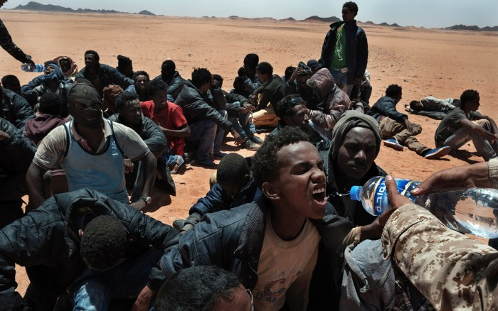 migranti in Libia