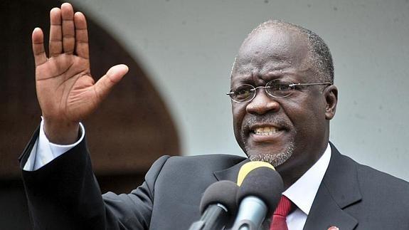 John Magufuli, presidente della Tanzania