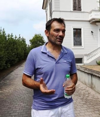 Stefano Scassellati, figlio di Maria Laura Satta e di Luigi Scassellati